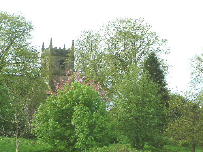 Page 17 Elton church in spring time